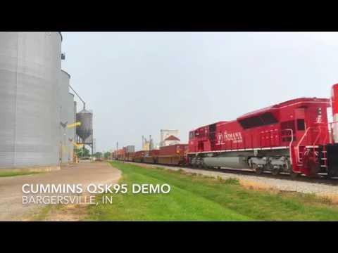 Cummins QSK95 Demo
