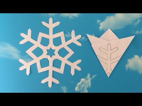 Paper Snowflake #01 | How To Make A Paper Snowflakes Step by Step Tutorial