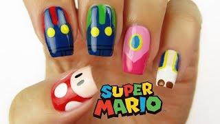 SUPER MARIO NAIL ART | CutePlay Countdown #5!