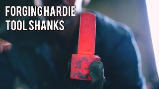 Forging a Hardie Tool Shank on a Little Giant 250- Power Hammer Forging with Brent Bailey
