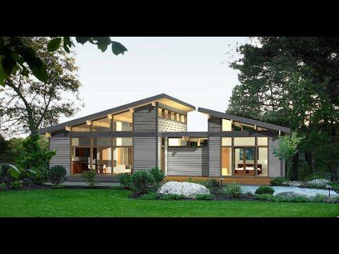 10 dise os de casas de campo con planos y fachadas youtube - Disenos interiores de casas ...