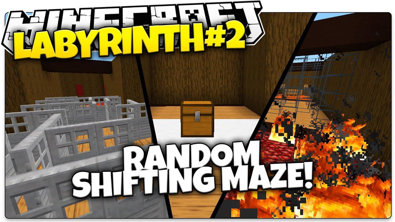 Minecraft | LABYRINTH #2! | Random Shifting Maze (Minecraft