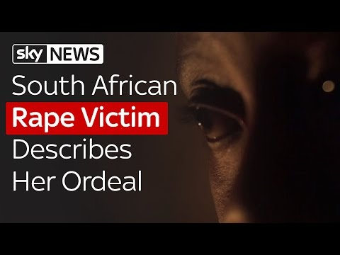 South African Rape Victim Describes Her Ordeal
