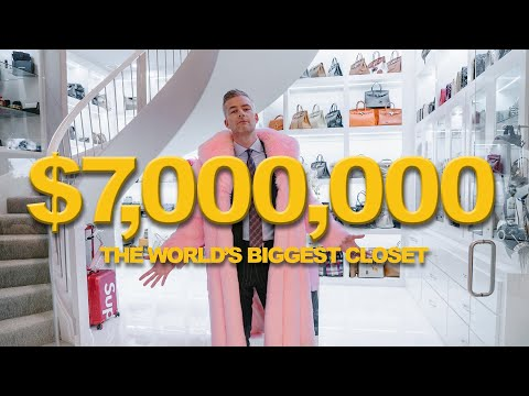 Inside the WORLD'S BIGGEST CLOSET | Ryan Serhant Vlog #99