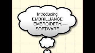 Unboxing Embrilliance Embroidery Digitizing Software!