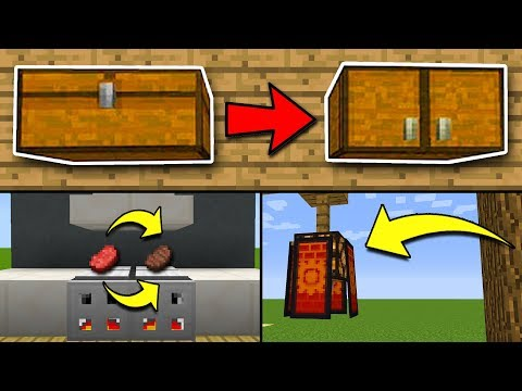 8 SECRET Things You Can Make in Minecraft! (Pocket Edition, PS4/3, Xbox, Switch, PC)