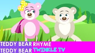 Teddy Bear Teddy Bear Turn Around Nursery Rhyme | Teddy Bear Song | Twinkle Tv