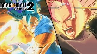 Vegito Black Vs Vegito Blue! Super Saiyan Rose Vegito Is Born | Dragon Ball Xenoverse 2 Mods