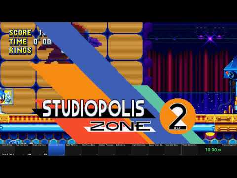 Sonic Mania S+T Speedrun: 1hr 7min 55 sec