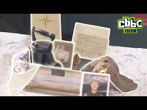 Click On Harriet's Memory Box Items To Explore WW1 Memories - CBBC