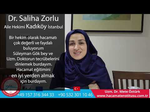 İstanbul Hacamat Kursu Röportaj Uzm Dr Mete ÖZTÜRK-Süleyman Gök Hacamat Enstitüsü  +90 532 301 10 46