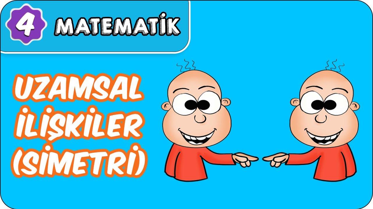Uzamsal İlişkiler (Simetri) | 4. Sınıf Matematik evokul Kampı