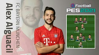 PES 2021   FORMASI ALEX ALGUACIL PRO PLAYER BAYERN ESPORTS