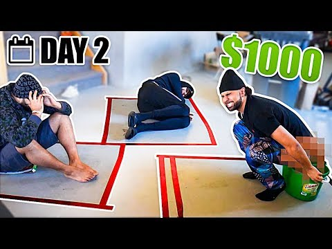 Last To Leave The Box Wins $1000 - Challenge