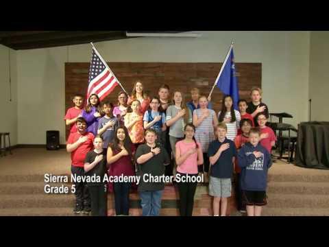 One Nevada Morning Pledge - Sierra Nevada Academy Charter School Grade 5