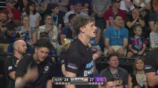 Thomas Abercrombie with 18 Points vs. Sydney Kings