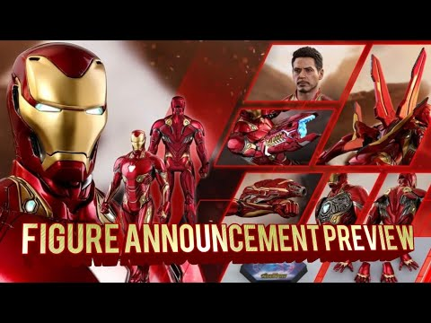 Hot Toys Infinity War Ironman Preview ( Mark 48 or 50 ? )