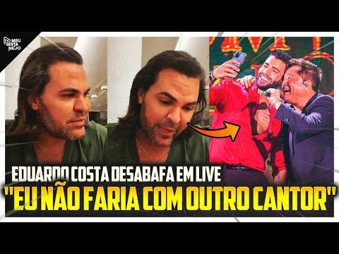 EDUARDO COSTA DESABAFA