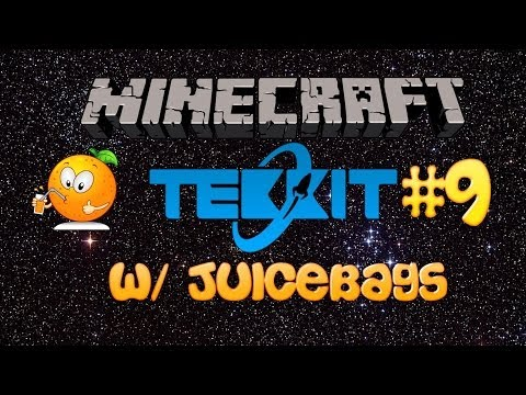 Minecraft Tekkit Server Episode 9 [ Automated Farming For Some Biofuel Goodness! ]