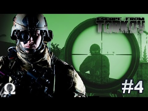 BUSTING OUT THE SNIPER RIFLE, EARLY MORNING RAID! | Escape From Tarkov #4 Solo Customs PVP Gameplay