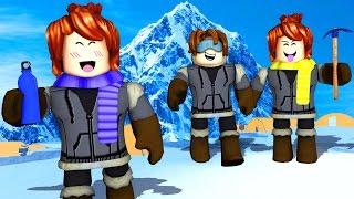 Roblox - EXPEDIÇÃO EVEREST EM FAMÍLIA (Everest Climbing Roleplay)