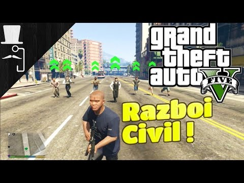 GTA V | Gameplay in romana | Team up | Razboi Civil | Mod Showcase