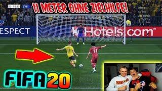 FIFA 20: DEMO Gameplay! Kleiner BRUDER und ICH testen das neue ELFMETERSCHIEßEN ohne Zielhilfe!