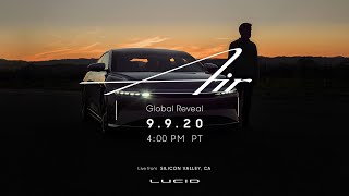Lucid Air Dream Edition electric sedan