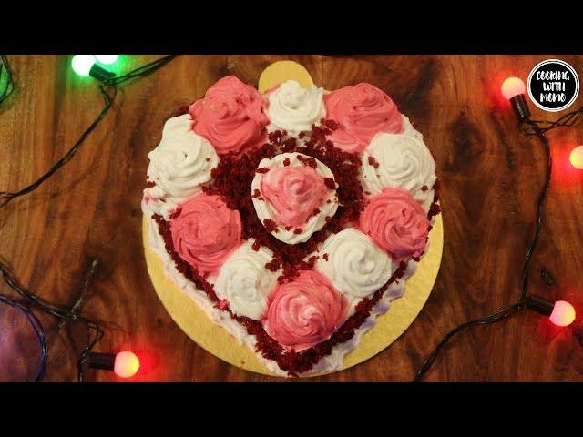 চুলায় তৈরি- রেড ভেলভেট কেক | Red Velvet Cake In Stove | Red Velvet Cake Rercipe In Bangla | কেক