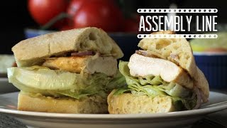 Grilled Ceasar Sandwich Recipe | Assembly Line