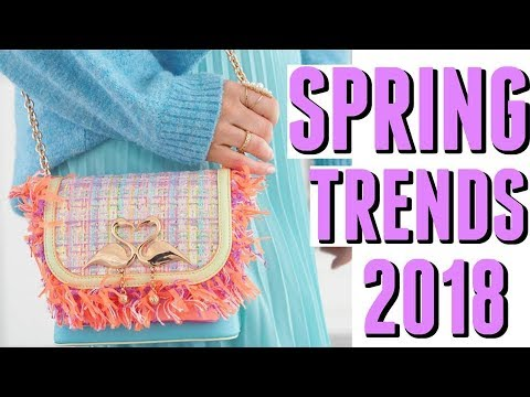 TOP 10 SPRING FASHION TRENDS 2018