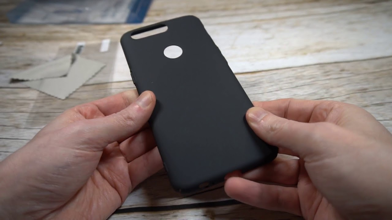 newest 6a427 49b80 TopACE Ultra Thin Super Slim Hard PC Case for OnePlus 5T Unboxing and Review
