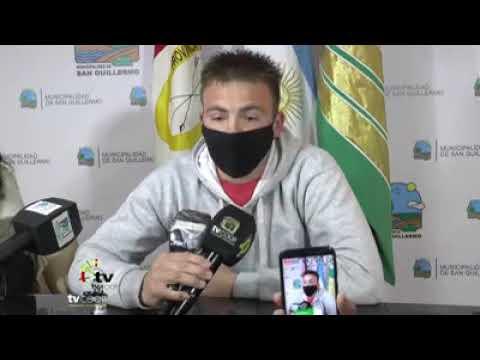 Pablo Galotto nuevo Coordinador de Deporte de la Municipalidad de San Guillermo