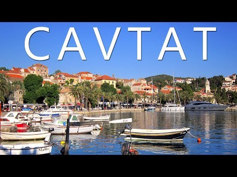 Cavtat Croatia 2017 - Old Town and Beaches
