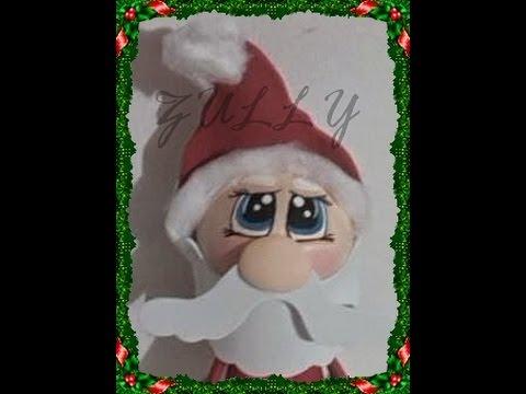 Cómo Pintar Ojos De Fofucho Papá Noel