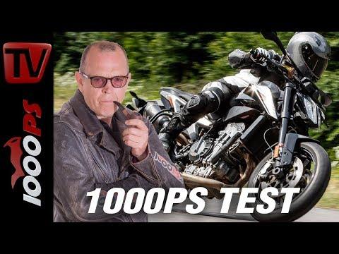 KTM 790 Duke - Naked Bike Vergleich 2018 - Teil 7 von 7 - Täglich 1 Video