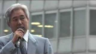 2007-06-28 東京・新宿駅西口にて瀬戸弘幸さんの街頭演説 1/6.