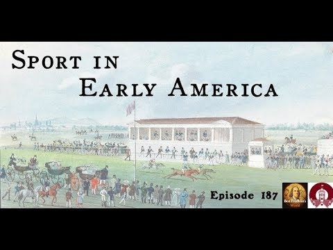 187 Kenneth Cohen, Sport in Early America