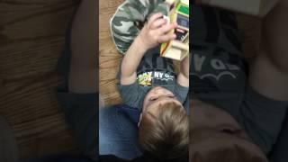 Noah's Potty Training Reward - March 26th, 2017
