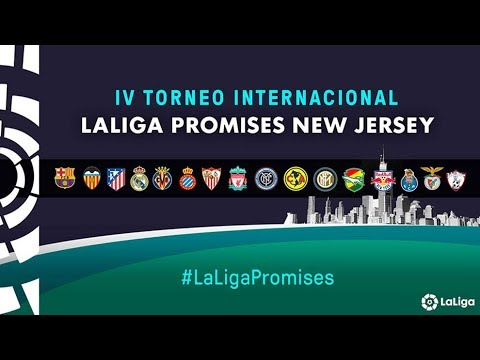 Iv torneo internacional laliga promises (nueva jersey 2018), en directo