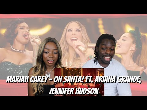 Mariah Carey – Oh Santa! (Official Music Video) ft. Ariana Grande, Jennifer Hudson – REACTION