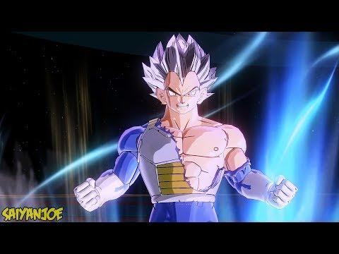 Vegeta Transformations (SSJ 1-2-3-4-SSG-SSB-Ultra Instinct)   Dragon Ball Xenoverse 2