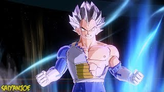 vegeta turns into