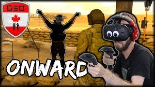 SUICIDE BOMBER IN VIRTUAL REALITY | HTC VIVE (Onward VR Funny Moments)
