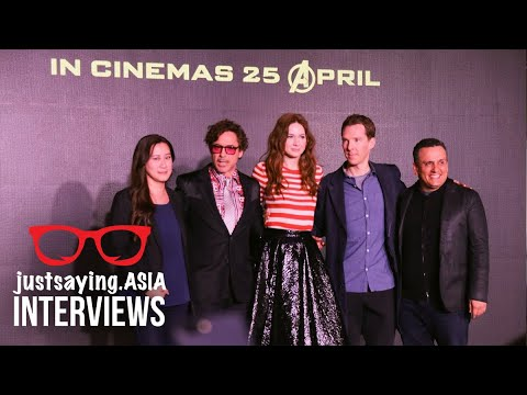 Watch the Infinity War Press Conference in Singapore