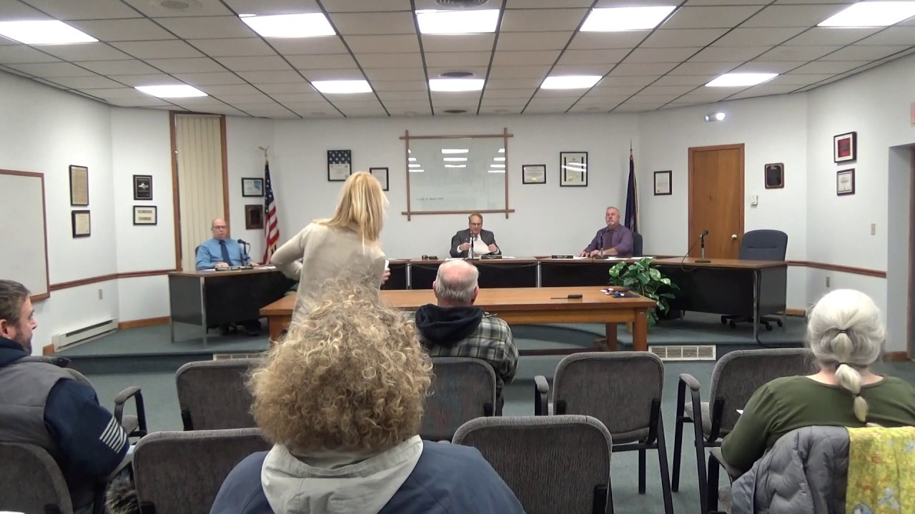 Rouses Point Village Board Meeting  1-6-20