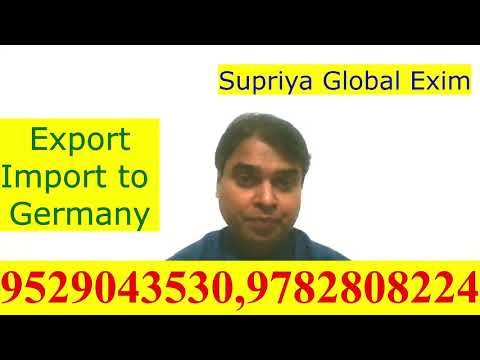 Export- Import to Germany