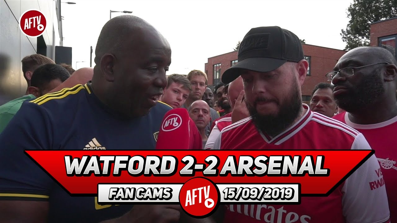 Watford 2-2 Arsenal   Emery Has To Go If We Don't Make Top 4!! (DT)