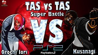 [TAS] PS2 KOF2002 - Orochi Iori VS Kusangi - Super Battle