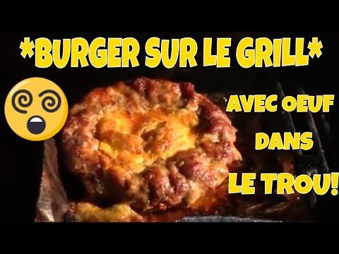 superbe-recette-de-burger-*Œuf-dans-le-trou*-au-bbq!
